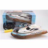 Water RC Toys of Inflatable High Speed Boat Ship Yacht Model 2.4GHz