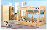 Solid Wood Kids Bunk Bed Children Bunk Bed (M-X1032)