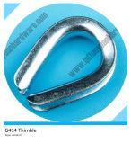 G414 Stainless Steel U. S. Type Heavy Duty Thimble