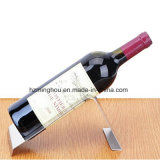 Unique Creative Stainless Steel Wine Bottle Holder for Home Decor
