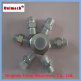 Carbon Steel Galvanized Jic Male Hydraulic Fitting Adapter