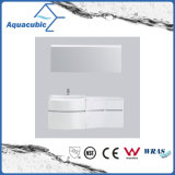 White Painting PVC Bathroom Vanity with Mirror (ACF8925)