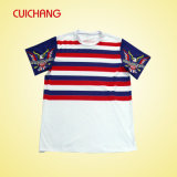 Wholesale Custom Design Polyester/Cottom Sublimation Fashional Good Quality Men′s T-Shirt