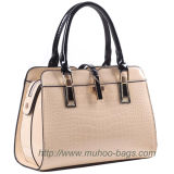 Fashion Snake PU Leather Ladies Bag for Outdoor (MH-6040)