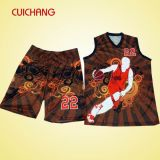 Wholesale Custom Design Polyester Sublimation Basketball Jersey&Sportswear
