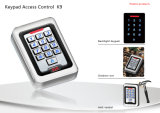 Digital Backlit Keypad Access Control RFID Reader Device (K9EM-W)