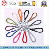 Custom Defferent Color Leather Key Ring / Key Holder