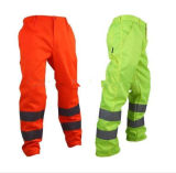Reflective Polyester Cotton Worker Work Pants