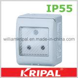 Africa 15A Round Pin Waterproof Socket