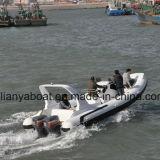 Liya 7.5m V Shaped OEM Rib Boat Inflatable Boat China Suppliers