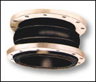 EPDM/NBR/Viton Single Sphere Rubber Expansion Joints Pn16