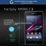 Cell/Mobile Phone Accessories Tempered Glass Screen Protector for Sony Z3