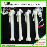 Plastic Bone Pen with Lanyard (EP-P82955)