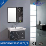 Waterproof Wall Steel Knock Down Bathroom Vanity Cabinet