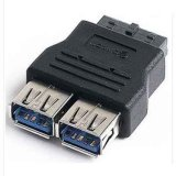 USB 3.0 a Female to 20pin Internal USB Motherboard Adapter