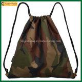 Polyester or Nylon School Bag Sport Drawstring Backpack Bag (TP-dB263)