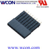 2.54 mm H = 8.5 mm Single Row Four Layer 180 ° DIP Female Header