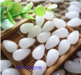 Natural White Jade Drop Loose Gemstones