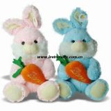 Plush Carrot Easter Bunnies Toys for Festival (LE-ET082209)