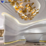 Modern and Colorful Customize Design Commercial Reception Desk