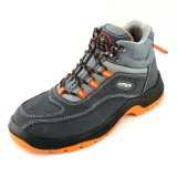 Suede Leather PU Sole Puncture Resistant Safety Boots Ce Standard