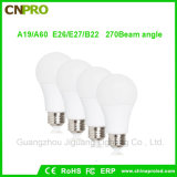 New Design Energy Saving 9W E27 E26 B22 Daylight LED Bulbs Lamp Lighting