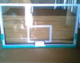 Silk Screen and Tempered Float Glass Basketball Board
