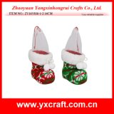 Christmas Decoration (ZY16Y036-1-2 14CM) Knitted Christmas Flower Christmas Party