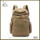Custom Vintage Canvas Backpack School Bag