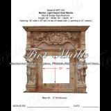 Desert Gold Fireplace for Home Decoration Mfp-183