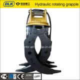 Kato Sany Hydraulic Log Grapple in Excavator Attachment