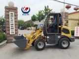 New Design Hzm 800kg Mini/ Small Wheel Loader Farm Tractor Loader Hzm 908t/Jn908