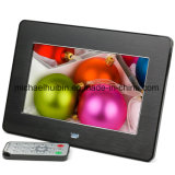 Beautiful Promotion Gift Metal Wire Drawing Digital Photo Frame (HB-DPF705A)