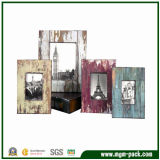 Special Retro Wooden Art Picture Frame for Decoration