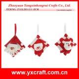 Christmas Decoration (ZY13L292-1-2-3 15CM) Christmas Small Pillow Ornament