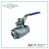 Stainless Steel Full Bore Screwed 2PC Ball Valve in 2000wog