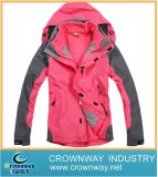 Ladies 3 in 1 Ski Jacket with Printing (CW-SKIW-26)