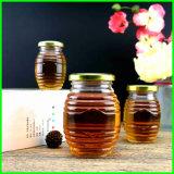 Wholesale Jam Glass Jar Preserves and Jelly Jar Round Clear Glass Honey Jar