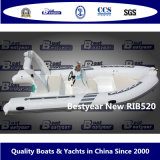 Bestyear Rigid Inflatable Boat of New Rib520
