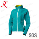 Outdoor Sport Soft Shell&Polar Fleece Women Jacket (QF-418)