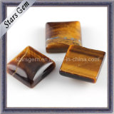 Natural Stone Square Shape Tiger′s Eye