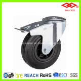 Industrial Caster Wheel with Rubber (G101-31D075X25S)