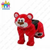 Indoor Amusement Fun Park Animal Motorized Plush Kids Toy Zippy Rides