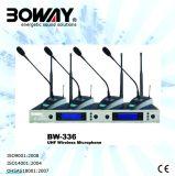 Four Channels UHF Wireless Microphone/Microfono Inalambrico (BW-336)