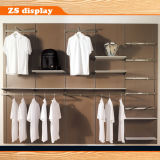 Wall Wood Male Clothes Display Shelf with MDF Board (ZS-203)