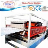 PVC Glazed Wave Roofing Tiles Sheet Plastic Production Line