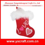 Valentine Decoration (ZY11S399-1) Felt Valentine Gift Stocking