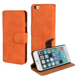 Many Color Mobile Cell Phone Leather Filp Case for iPhone 6
