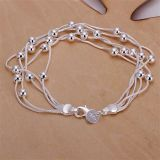 High Quality 925 Sterling Silver Plated Fashion Necklace Jewelry