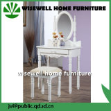 Wood Modern Furniture Dresser Table with Mirror (W-HY-028)